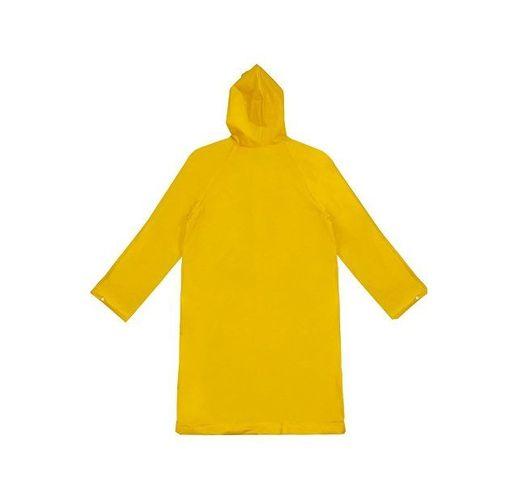 Дождевик Hawaii c чехлом унисекс, желтый