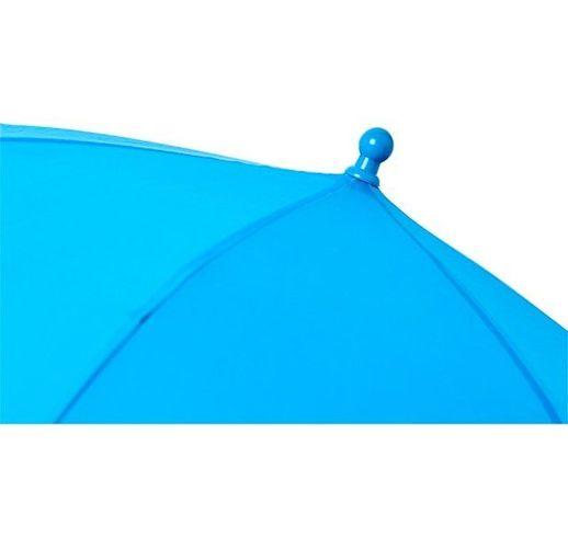 Детский 17-дюймовый ветрозащитный зонт Nina, process blue