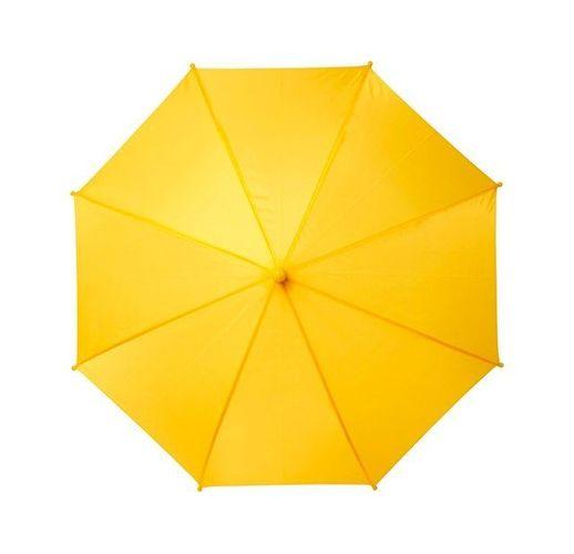 Детский 17-дюймовый ветрозащитный зонт Nina, желтый