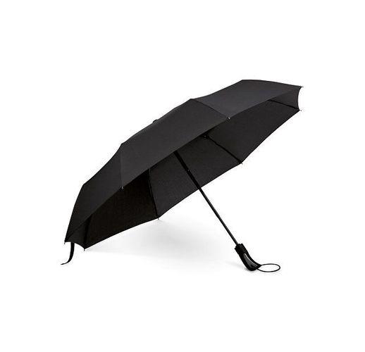 CAMPANELA. Зонт с автоматическим открытием и закрытием, Черный