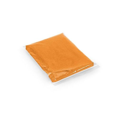 SANDRA. Водонепроницаемый пончо, Оранжевый