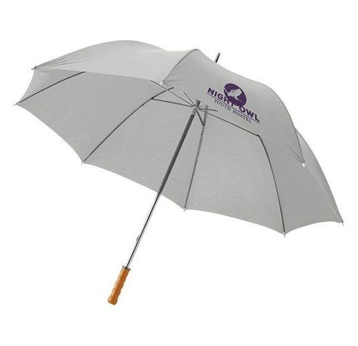 Зонт Karl 30 механический, светло-серый