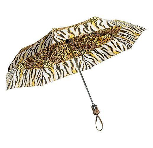 Зонт складной Ferre, автомат желтый/черный