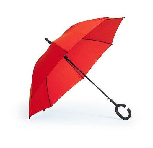Зонт-трость , красный