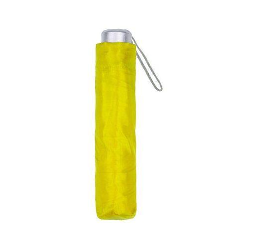 Зонт складной, желтый