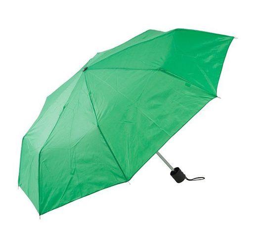 Зонт складной, зеленый
