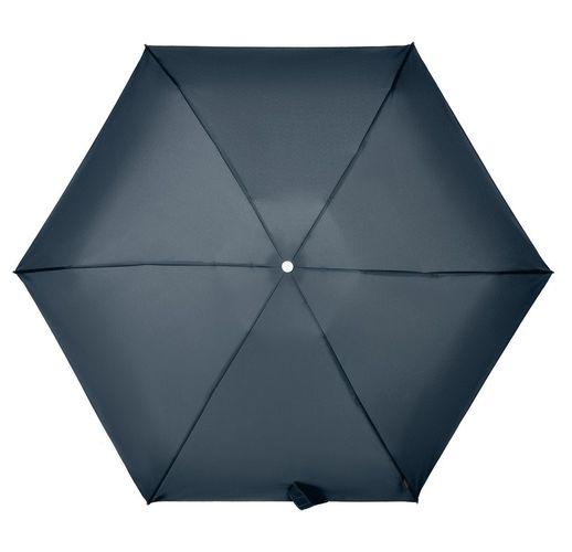 Складной зонт Alu Drop S, 4 сложения, автомат, синий
