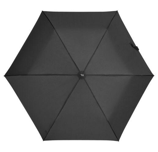 Зонт складной Rain Pro Mini Flat, черный