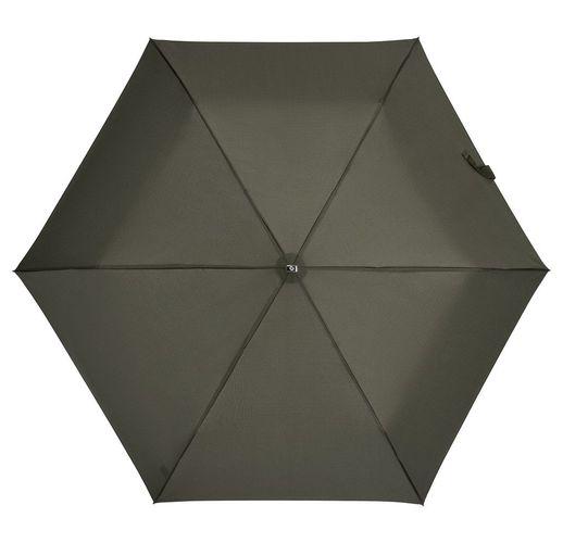 Зонт складной Rain Pro Mini Flat, зеленый (оливковый)