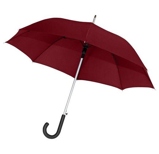 Зонт-трость Alu AC, бордовый