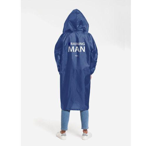 Дождевик Braining Man, ярко-синий