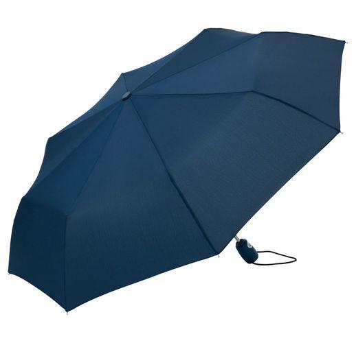 Зонт складной AOC, темно-синий