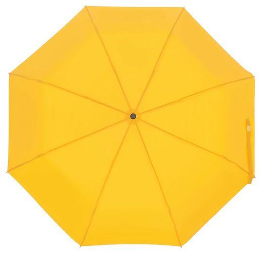 Зонт складной Show Up со светоотражающим куполом, желтый