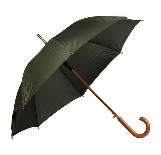 Зонт трость с деревянной ручкой