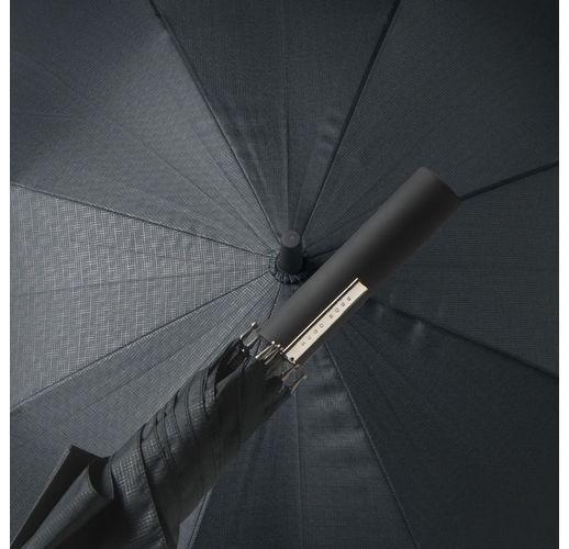 Зонт-трость Grid City, цвет черный