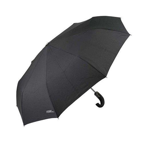 Зонт складной автоматический Ferre, черный