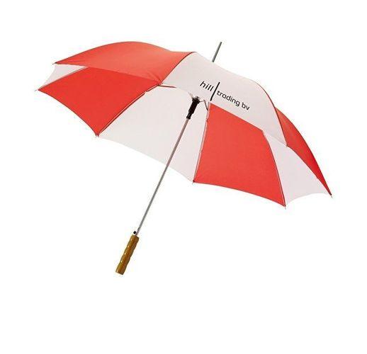 Зонт Karl 30 механический, красный/белый