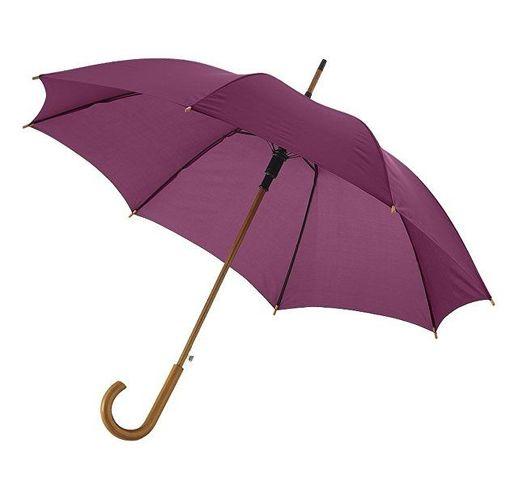 Зонт Kyle полуавтоматический 23, бургунди