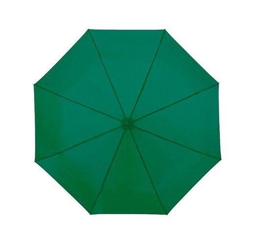 Зонт Ida трехсекционный 21,5, зеленый