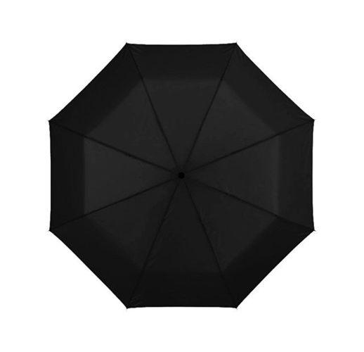 Зонт Ida трехсекционный 21,5, черный