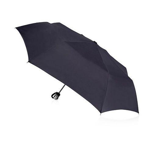 Зонт Alex трехсекционный автоматический 21,5, темно-синий