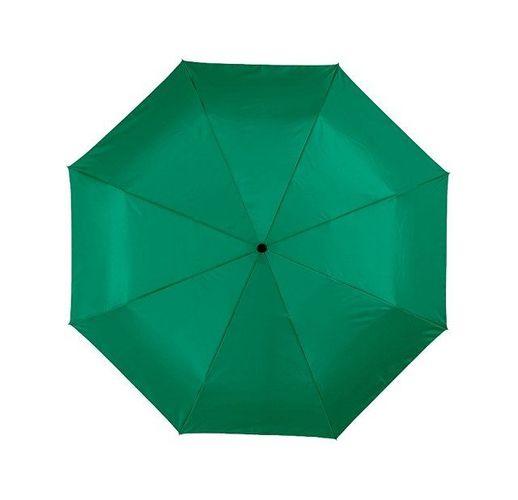 Зонт Alex трехсекционный автоматический 21,5, зеленый