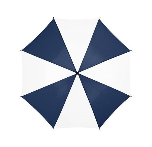 Зонт Barry 23 полуавтоматический, темно-синий/белый