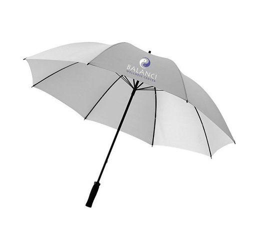 Зонт Yfke противоштормовой 30, светло-серый/черный