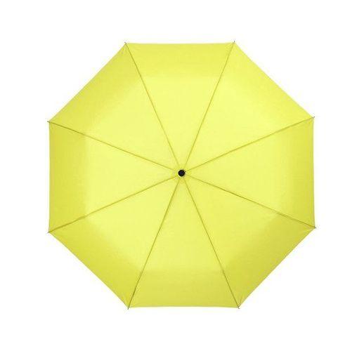 Зонт Wali полуавтомат 21, неоново-зеленый