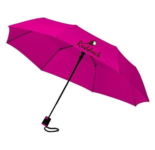Зонт Wali полуавтомат 21, фуксия