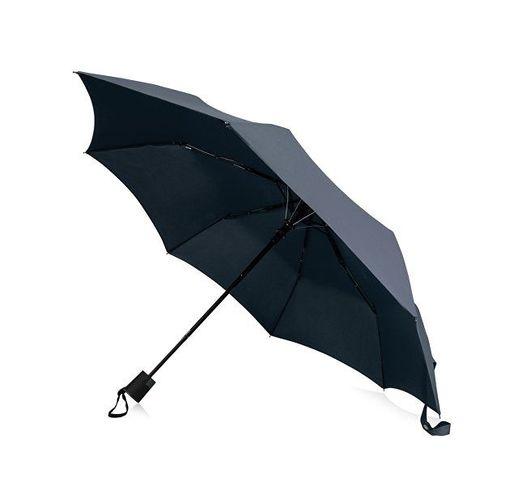 Зонт Wali полуавтомат 21, темно-синий