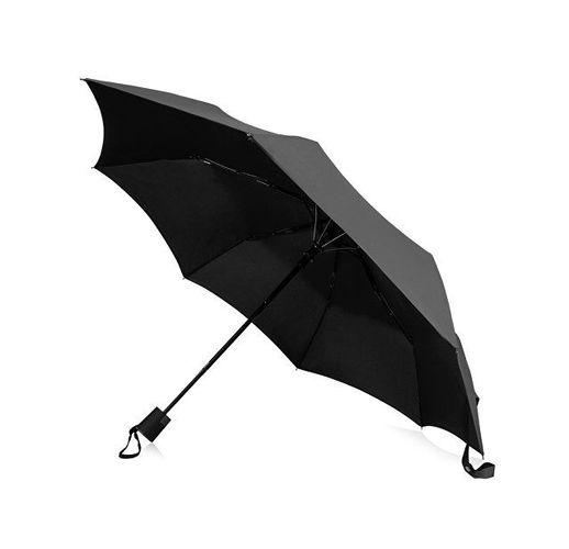Зонт Wali полуавтомат 21, черный