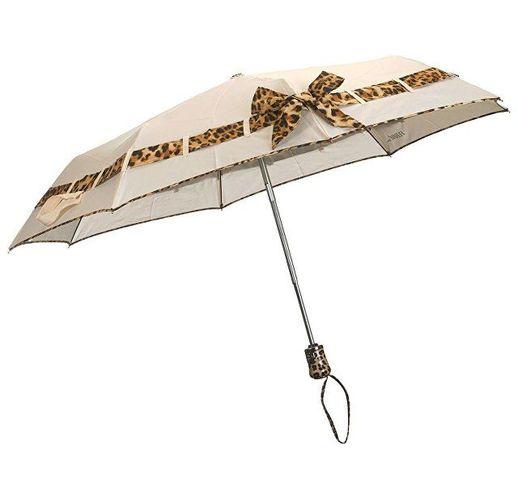 Зонт складной Ferre, автомат бежевый