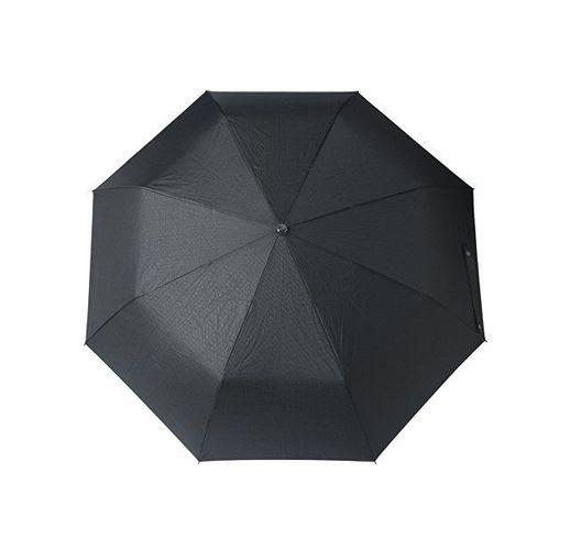 Зонт складной Grid. Hugo Boss, черный