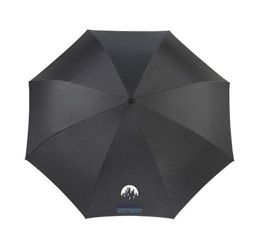 Зонт Lima 23 с обратным сложением, черный