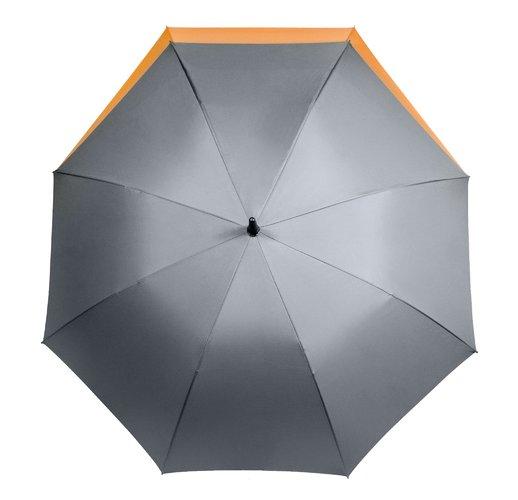 Зонт-трость Portobello Dune, серый/оранжевый