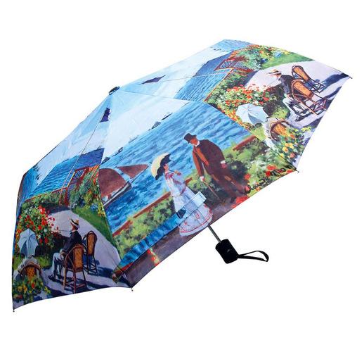 Набор Моне. Сад в Сент-Андрес: платок, складной зонт