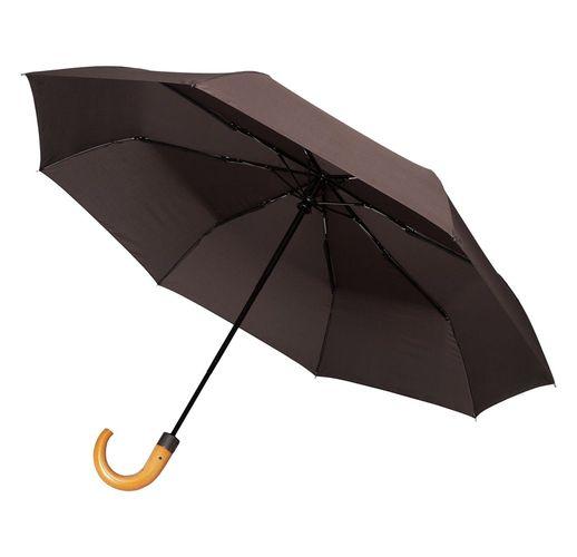 Складной зонт Unit Classic, коричневый