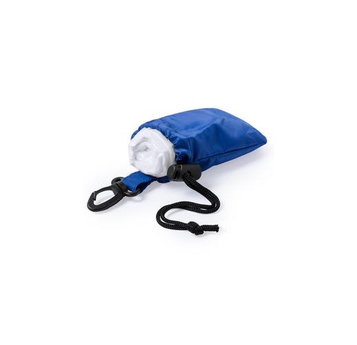 Дождевик DOMIN в чехле, синий, 9х11х5см, полиэтилен, полиэстер