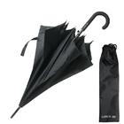 Зонт-трость Mesh Big, цвет черный