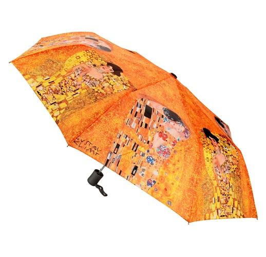 Набор Климт. Поцелуй: платок, складной зонт