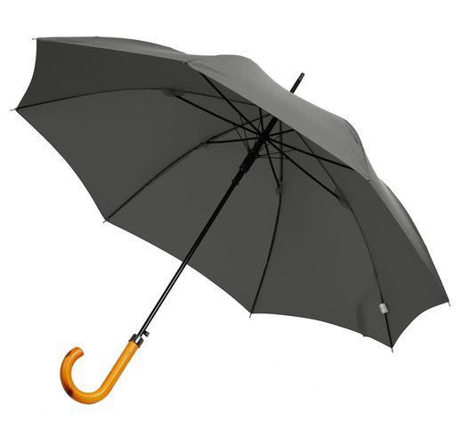 Зонт-трость LockWood, серый