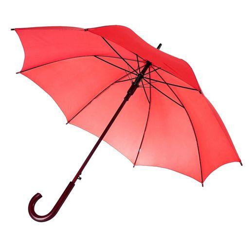 Зонт-трость Unit Standard, красный (коралл)