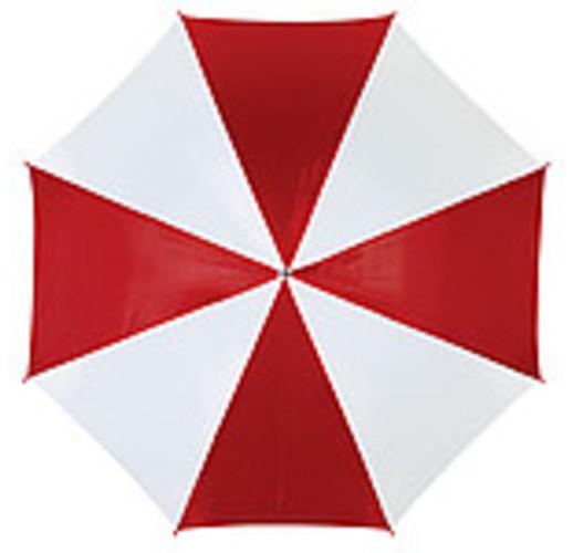 Disco Автоматический зонт трость (красный/белый)