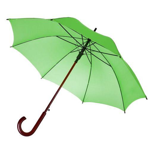 Зонт-трость Unit Standard, зеленое яблоко