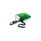 Дождевик DOMIN в чехле, зеленый, 9х11х5см, полиэтилен, полиэстер