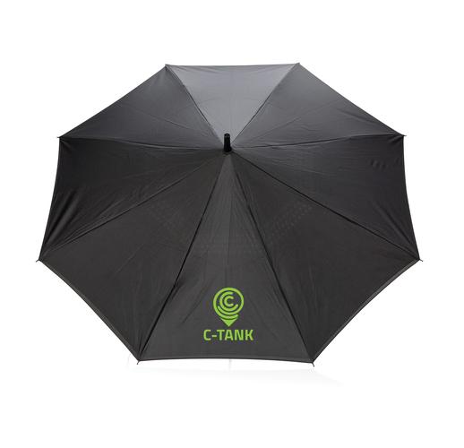 """Механический двусторонний зонт 23"""", серый"""