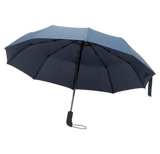 Автоматический зонтик (открытие/закрытие). (темно-синий)