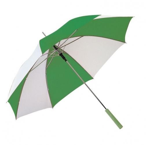 Автоматический зонт трость (зеленый)