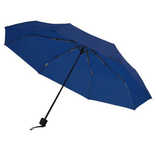 Зонт складной Mini Hit Dry-Set, темно-синий